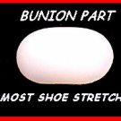 2 Plastic Bunion parts & Jt Foote Men's SHOE STRETCHER