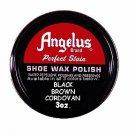 Cordovan Angelus Shoe polish WaterP Leather boot Shoe