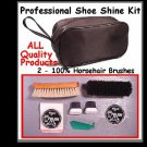 Quality!  New ~ For LEATHER SHOES ~  Shoe SHINE KIT