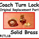 2 - Official COACH HAND BAG PURSE Replacement TURNLOCK
