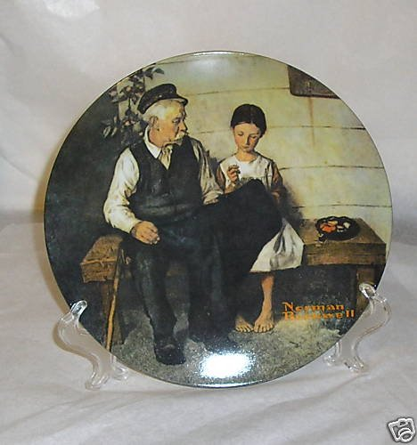 Limited Norman Rockwell Th Light House Keepers Daughter