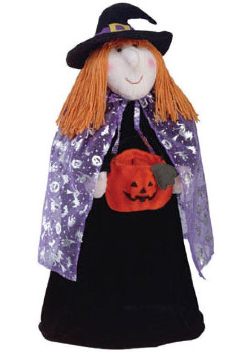 Door greeter Witch doll halloween folk art cooky NEW