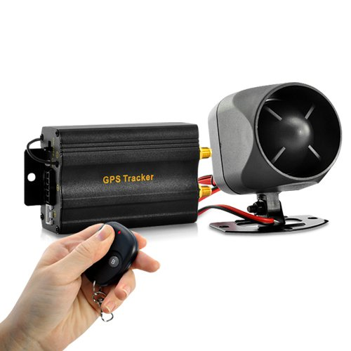 REAL-TIME CAR GPS TRACKER & ALARM SYSTEM