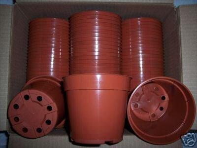 """4"""" terracota standard plastic pot nursery cactus 540 @@"""