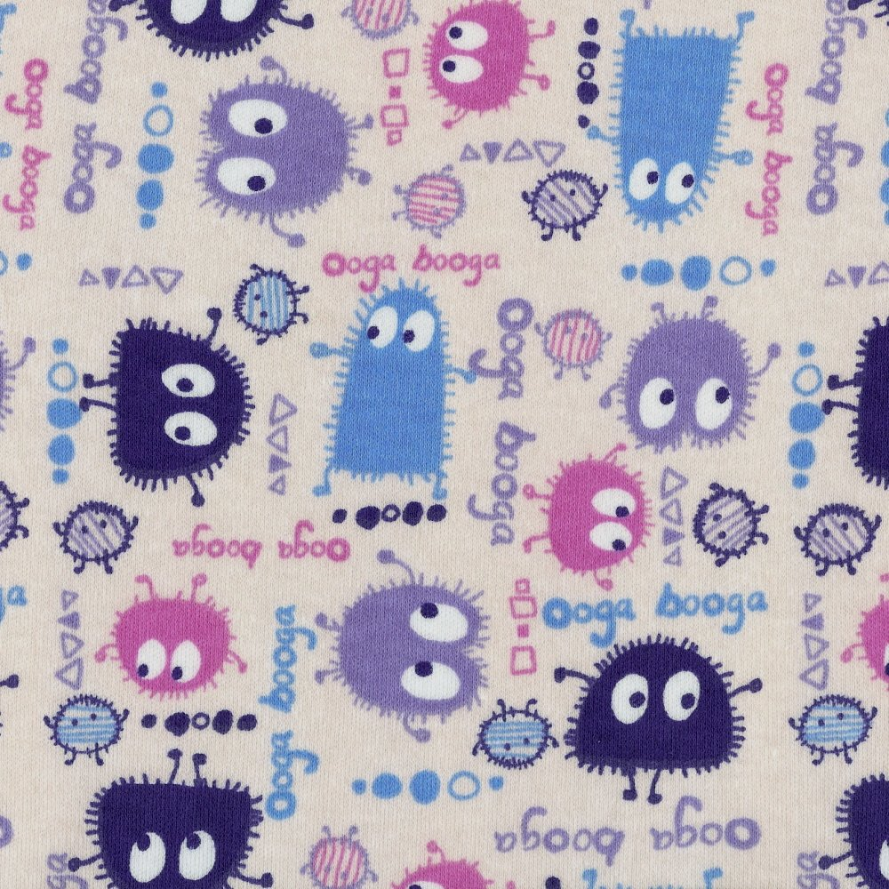 PINK Ooga Booga, FQ 18 x 29 inches