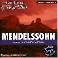 Mendelssohn V1 (heard Before Class Hits)