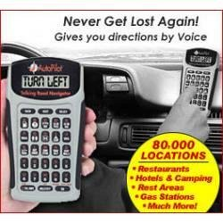 Auto Pilot Talking Road Navigator In Mail Order Box