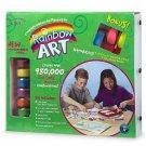 Rainbow Art Kit - Large Green Bonus Box 00336