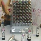 La Femme Silver Cap Lipstick Tray #7