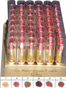 La Femme Gold Cap Lipstick Tray 2