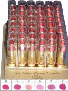 La Femme Gold Cap Lipstick Tray 3