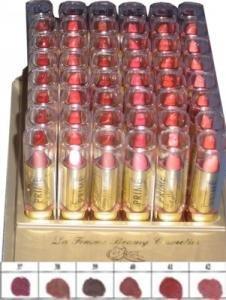 La Femme Gold Cap Lipstick Tray 7