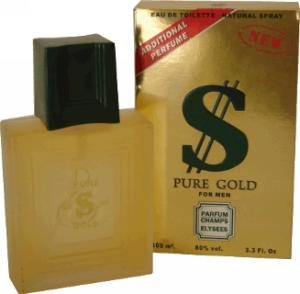 $ Pure Gold 100ml Mens Perfume