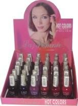 La Femme Hot Color Nail Polish Tray #6