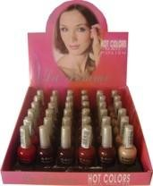 La Femme Hot Color Nail Polish Tray #8
