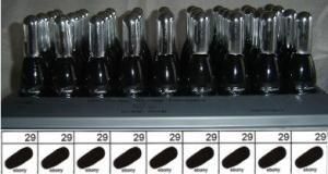 La Femme Nail Polish Tray Black
