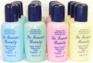 La Femme Nail Polish Remover Assorted Color