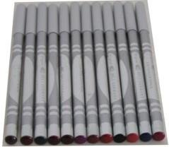 Assorted Color Glitter Eye & Lip Pencils