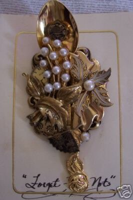 Artists Hand Crafted Collectible Brooch