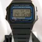 Casio Men's Black Digital Illuminator Watch