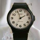 Casio Quartz  Watch With A White Round Face