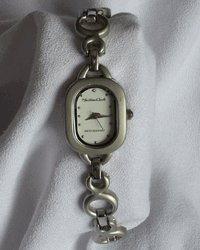Women's Silver Tone Bracelet Watch