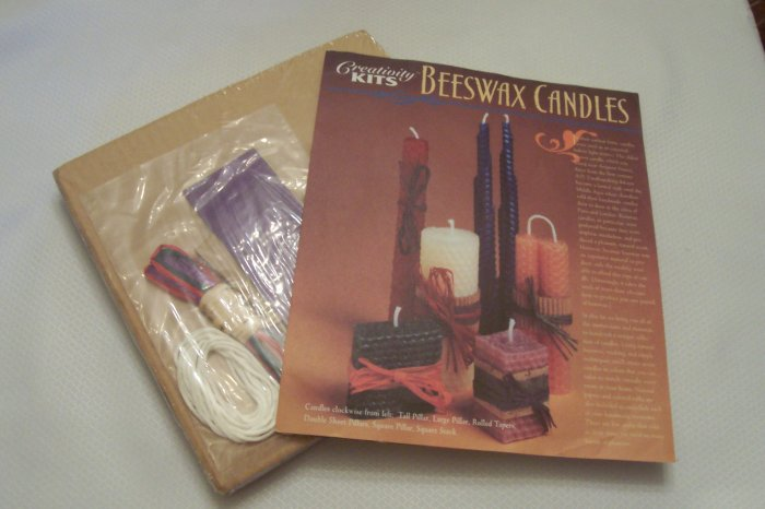 Beeswax Candles Kit