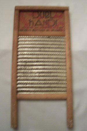 Dubl Handi Vintage Travel Size Wash Board
