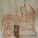 Authentic Dutch Design - Copper/Brass Egg Basket