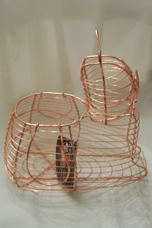 Authentic Dutch Design - Copper/Brass Egg Basket