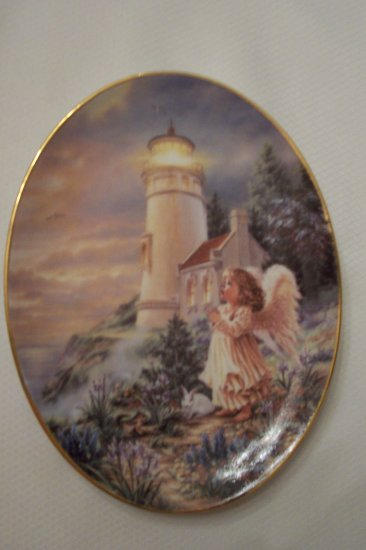 A Little Hope Lights The Way - Bradford Exchange Col. Plate
