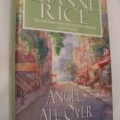 Angels All Over Town - By Luanne Rice - Large Print Edition