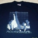 HOOBASTANK NAVY T-SHIRT SMALL
