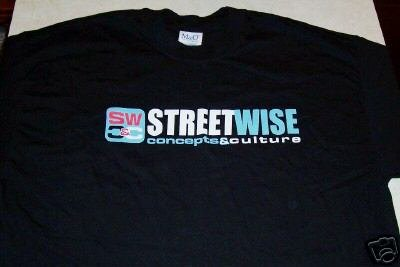 STREETWISE CONCEPTS & CULTURE T-SHIRT NWOT LARGE