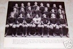 PRINCETON UNIVERSITY 1922 FOOTBALL TEAM PHOTO