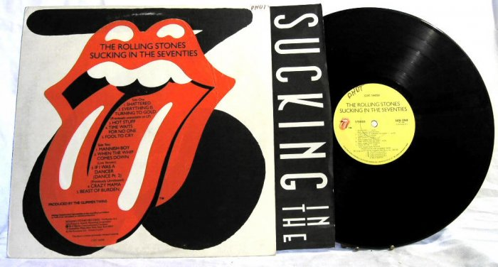 THE ROLLING STONES Sucking in the Seventies 1981 LP