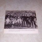 UNIVERSITY OF CALIFORNIA 1920 FOOTBALL TEAM PHOTO