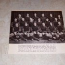 UNIVERSITY OF OKLAHOMA 1915 FOOTBALL TEAM PHOTO