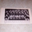 YALE UNIVERSITY 1935 FOOTBALL TEAM PHOTO