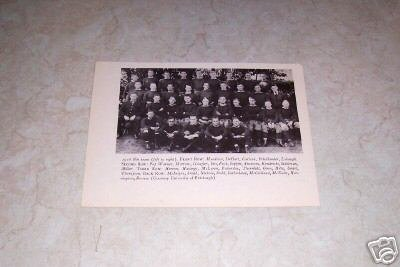 UNIVERSITY OF PITTSBURGH 1916 FOOTBALL TEAM PHOTO
