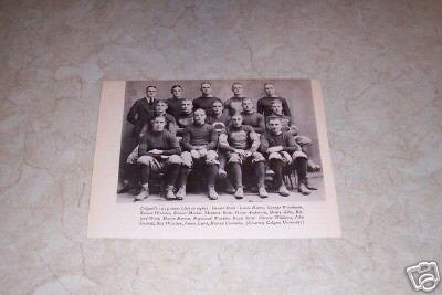 COLGATE UNIVERSITY 1919 FOOTBALL TEAM PHOTO