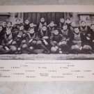 UNIVERSITY OF CHICAGO 1905 FOOTBALL TEAM PHOTO