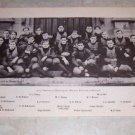 UNIVERSITY OF CHICAGO 1905 FOOTBALL TEAM PHOTO