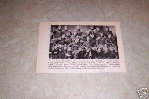 VANDERBILT UNIVERSITY 1904 FOOTBALL TEAM PHOTO