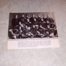 UNIVERSITY OF MICHIGAN 1901 FOOTBALL TEAM PHOTO