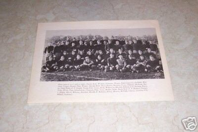 U.S. MILITARY ACADEMY ARMY 1916 FOOTBALL TEAM PHOTO