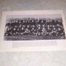 U.S. MILITARY ACADEMY ARMY 1916 FOOTBALL TEAM PHOTO