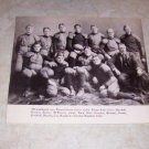 HARVARD 1901 FOOTBALL TEAM PHOTO