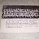 UNIVERSITY OF PITTSBURGH 1937 FOOTBALL TEAM PHOTO