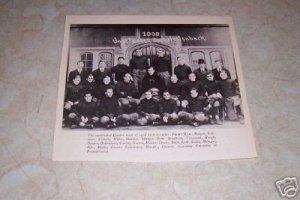 UNIVERSITY OF PENNSYLVANIA 1908 FOOTBALL TEAM PHOTO